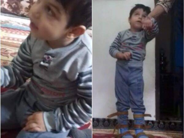 نیاز فوری محمد کیان کوچولو به واکر