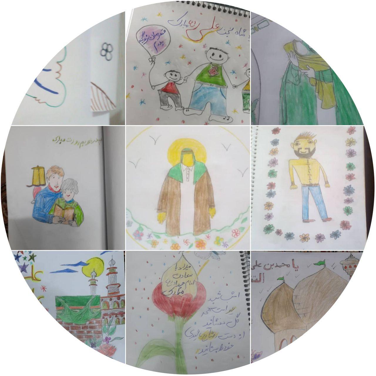 نقاشی های کودکان خیریه