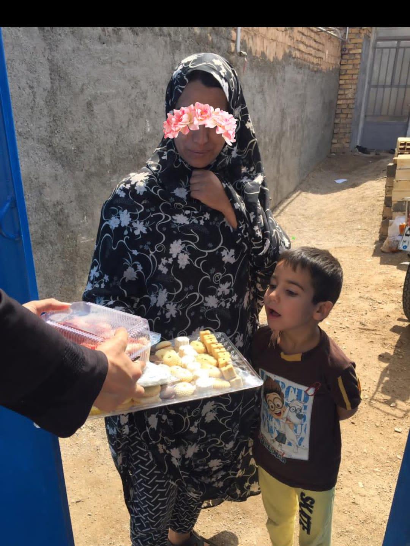 اهدای شیرینی شعبانیه