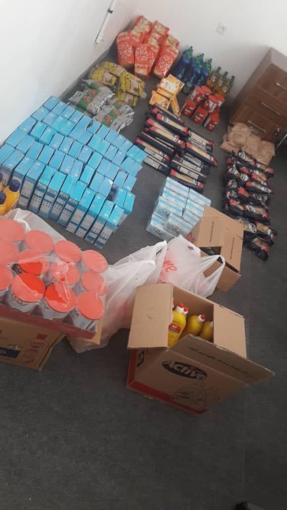 توزیع  بسته های ارزاق ماه مبارک رمضان